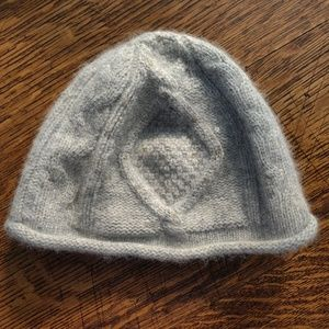 Banana Republic Gray w Sequins Winter Beanie Hat